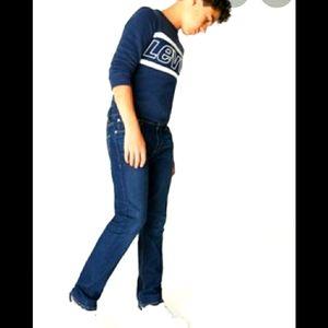 LEVI'S 505 Regular Boys Jeans Medium Dark Wash